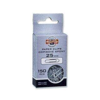 Büroklammern - Briefklammern Verzinkter Draht , 25 mm / 150