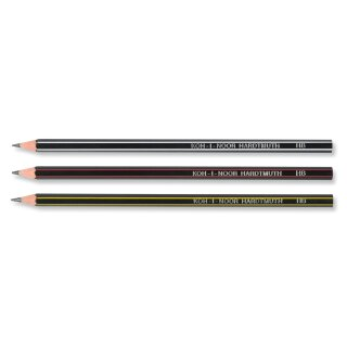 Bleistifte Extra flexible  Graphitstifte   - Gradation HB - im  12er Pack