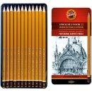 Graphitstifte 12er Set  ART  Gradation  8B - 2H   im...