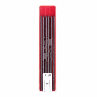 Minen-  2,0 x 120  mm Graphitminen - Gradation B -  im 12er Pack