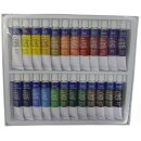 Aquarellfarben 24er Set   - 24 x 12 ml / Tube -