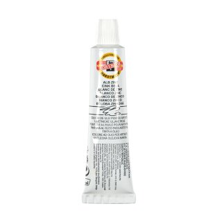 Ölmalfarbe- Mánes Colours  16 ml Tube  - Zinc White -